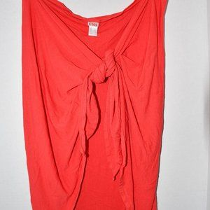 Eres  Swim Sarong  in  Orange Red  One Size  Excel